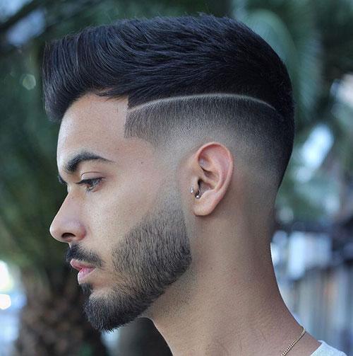 mid fade haircut 141