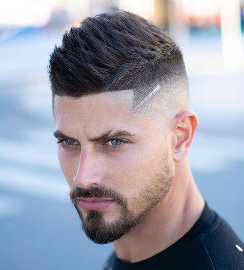 mid fade haircut 143