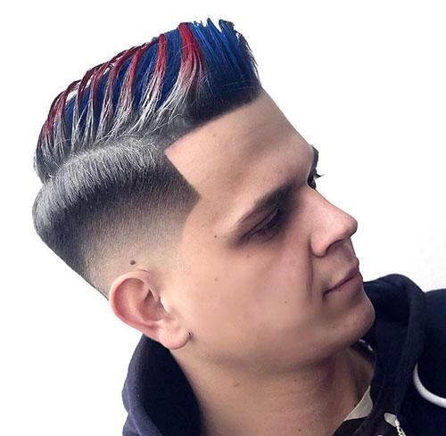 mid fade haircut 144