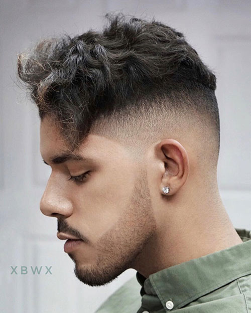 mid fade haircut 152