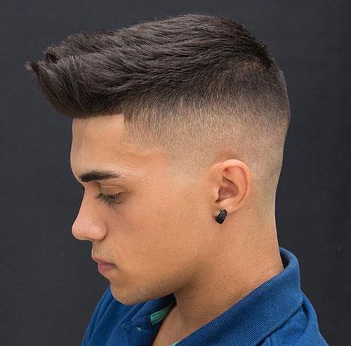 mid fade haircut 153
