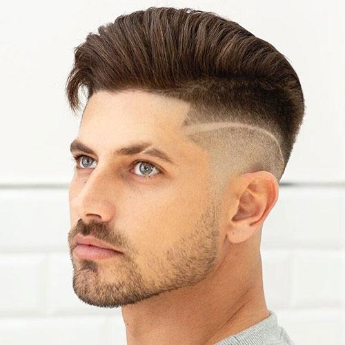 slicked back hair 34