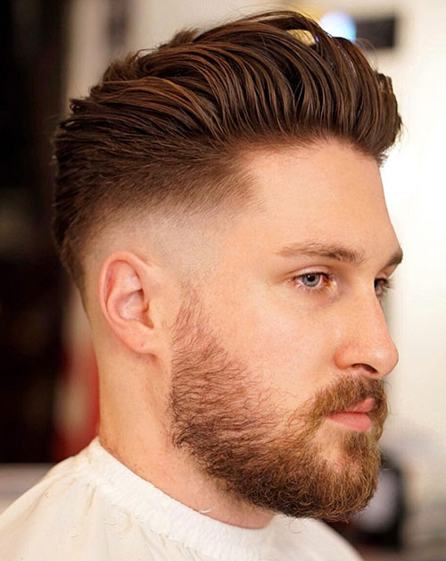 slicked back hairstyles 4