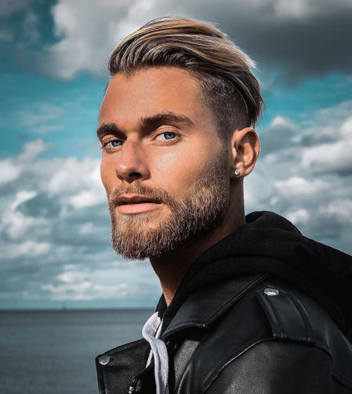 slicked back hairstyles for men 11