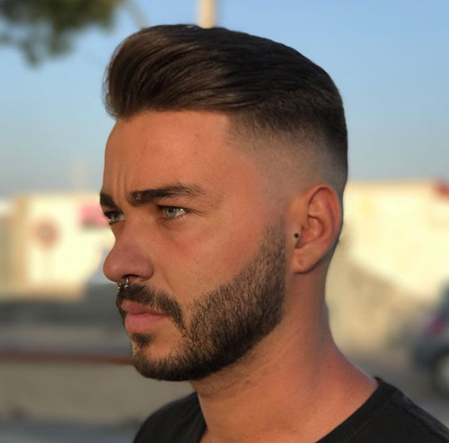 slicked back hairstyles for men 13