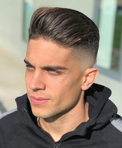 slicked back hairstyles for men 15