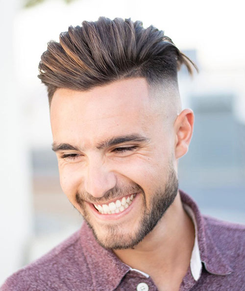 slicked back hairstyles for men 16