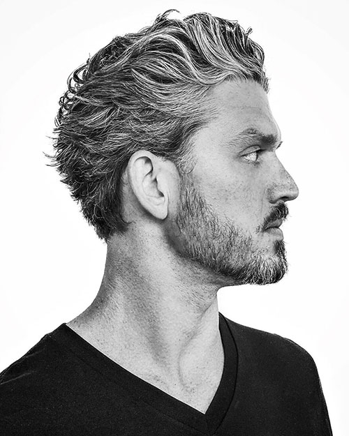 slicked back hairstyles for men 19