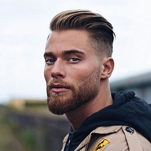 slicked back hairstyles for men 2