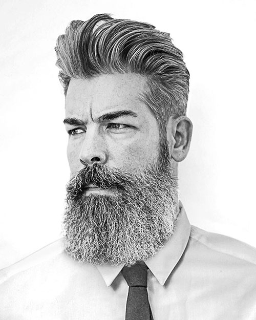 slicked back hairstyles for men 21