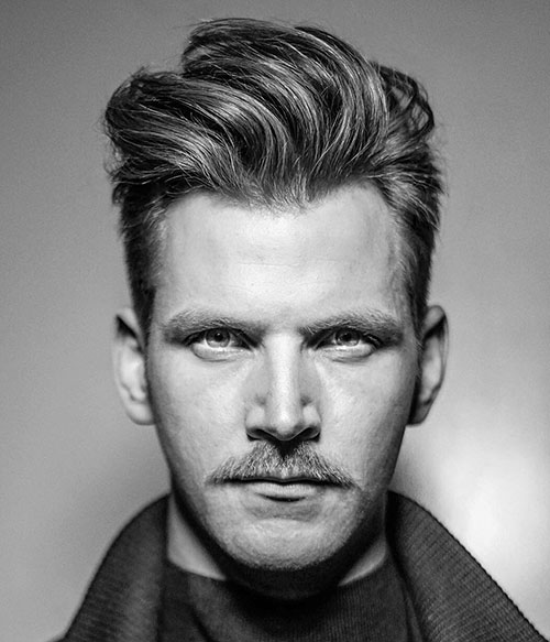 slicked back hairstyles for men 24