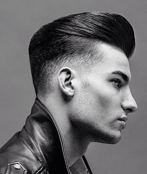 slicked back hairstyles for men 26