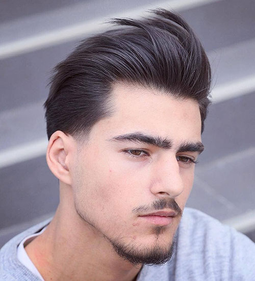 slicked back hairstyles for men 27