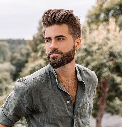 slicked back hairstyles for men 6