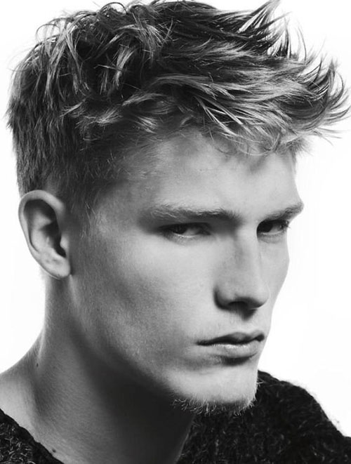 spiky hair for men 14