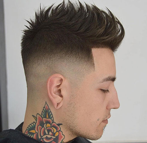 spiky hair for men 17
