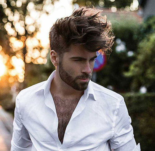 spiky hair for men 20