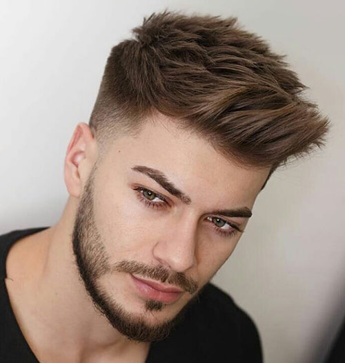 spiky hair for men 23