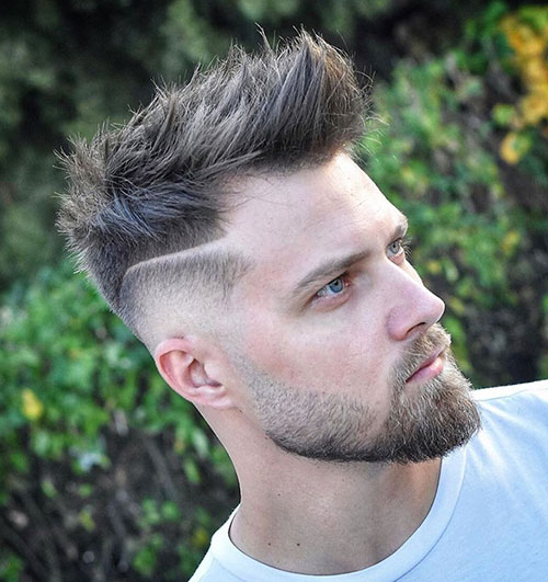spiky hair for men 24