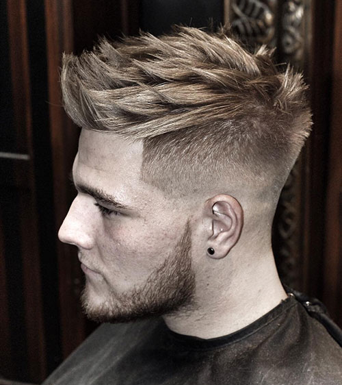 spiky hairstyles for men 14