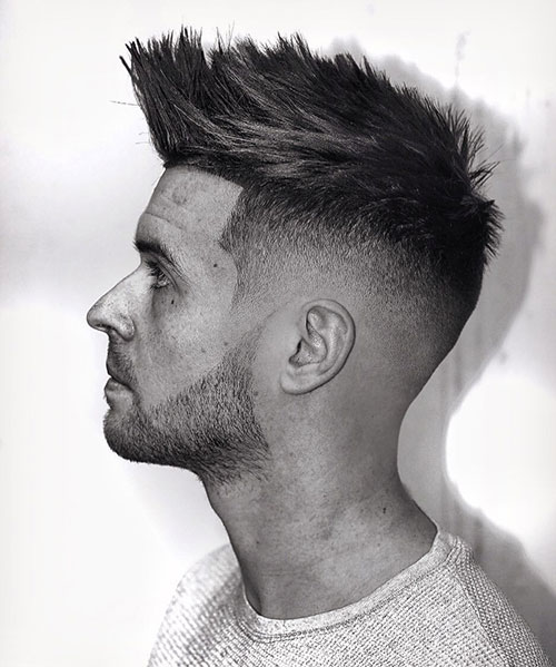 spiky hairstyles for men 156
