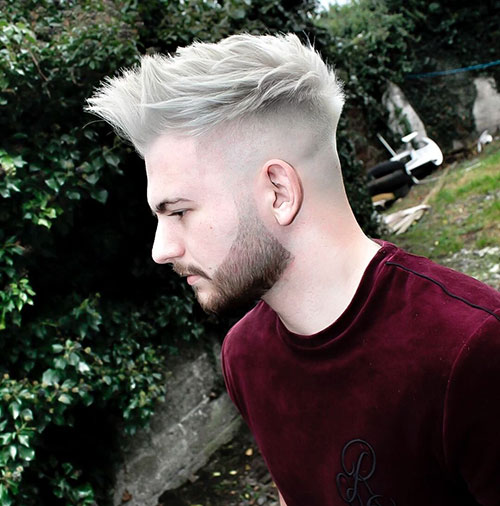spiky hairstyles for men 17