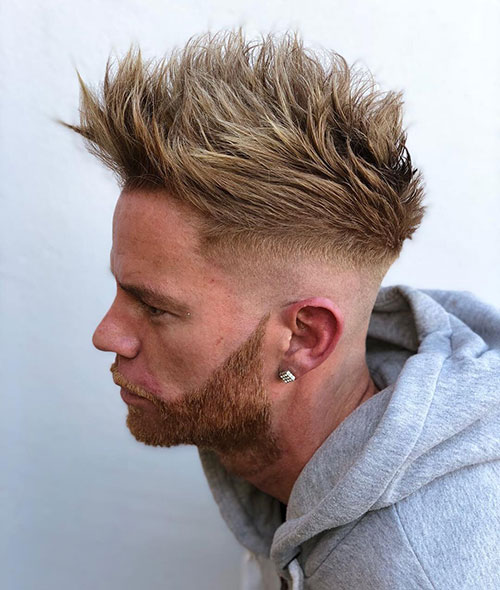 spiky hairstyles for men 7