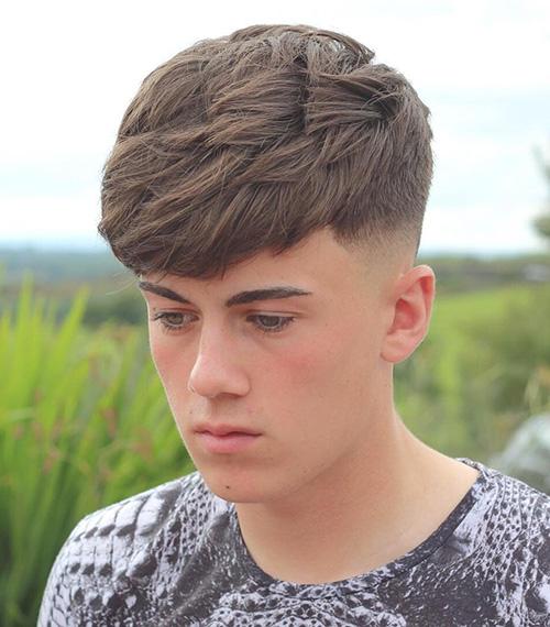 bowl cut haircuts for men 18