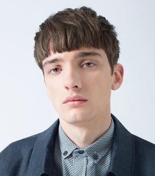 bowl cut haircuts for men 36