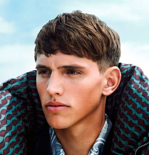 fringe haircuts for men 25