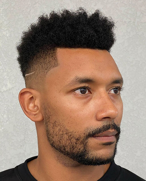 high top fade haircut 13