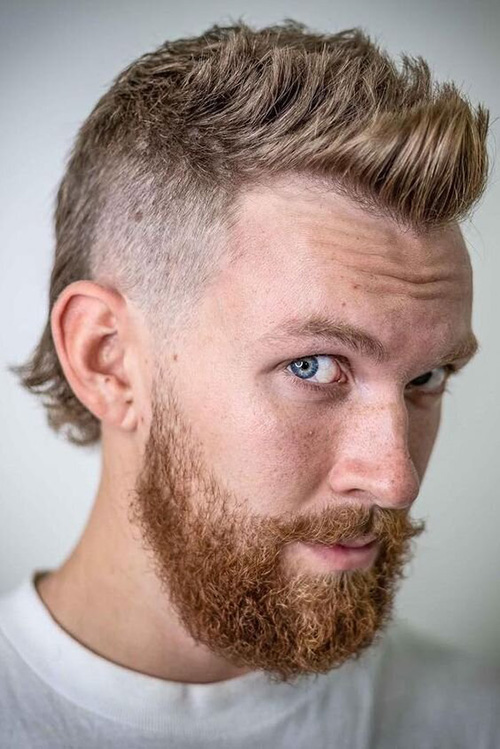 modern mullet haircut 11