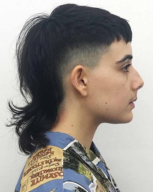 modern mullet haircut 14