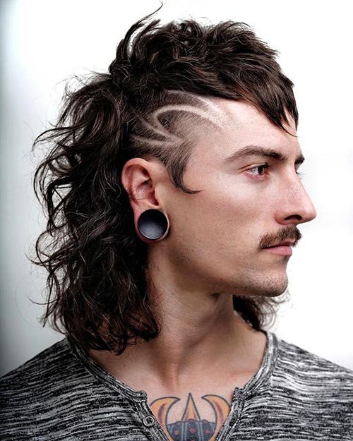 modern mullet haircut 40