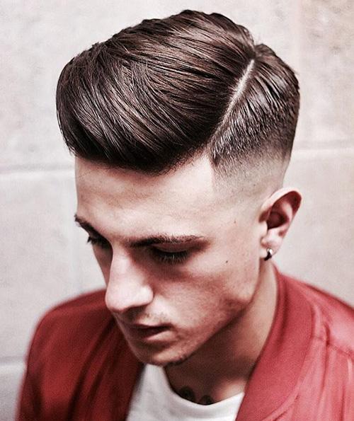 side part haircut 2