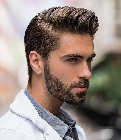 side part haircut 31