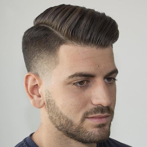 side part haircut 39