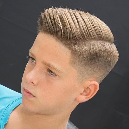 side part haircut 40