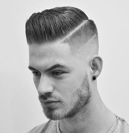 side part haircut 50