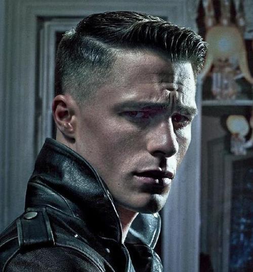 side part haircut 9