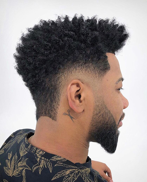 burst fade haircut 13