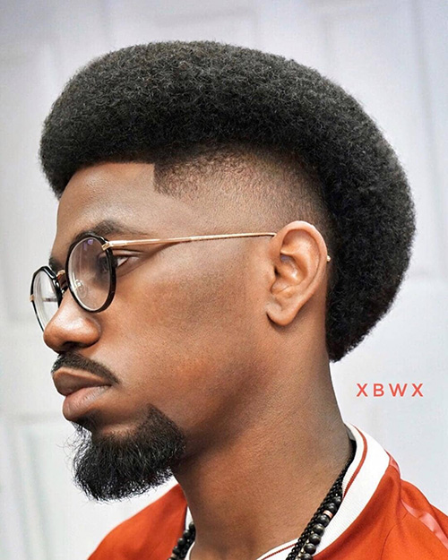 burst fade haircut 14