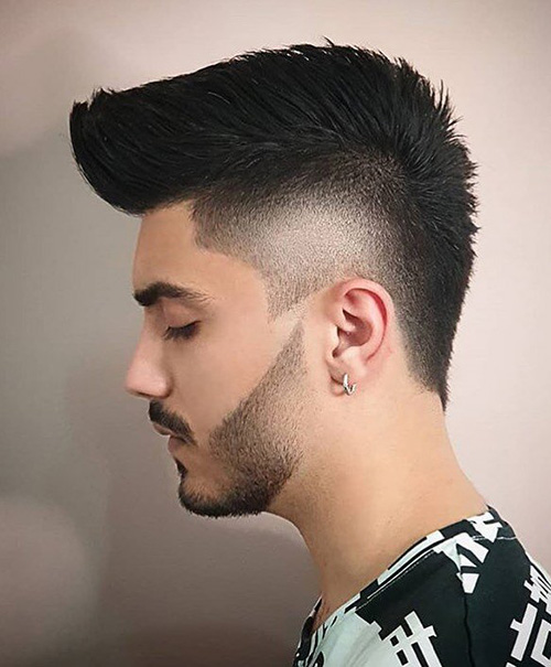 burst fade haircut 17