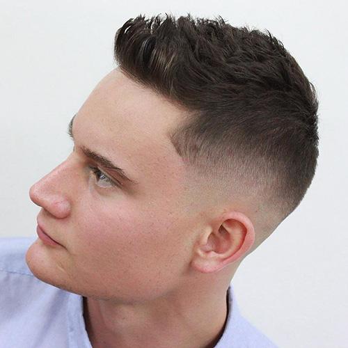 short sides long top haircut 11