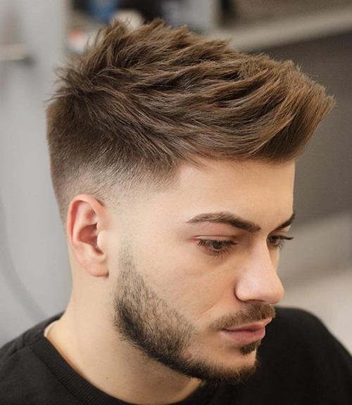 short sides long top haircut 18