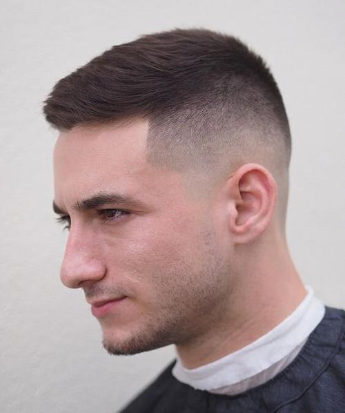 short sides long top haircut 2