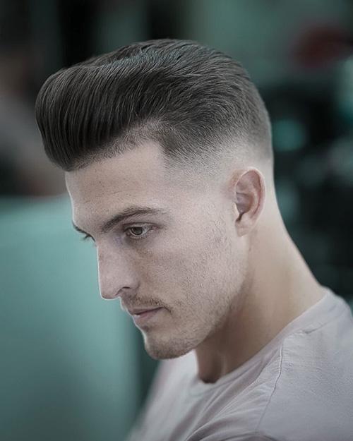 short sides long top haircut 22
