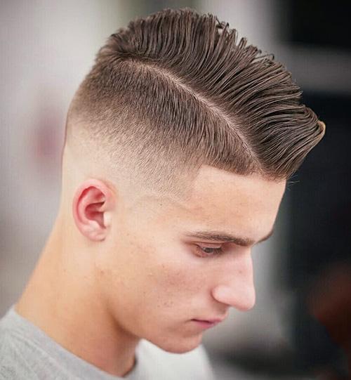 short sides long top haircut 23