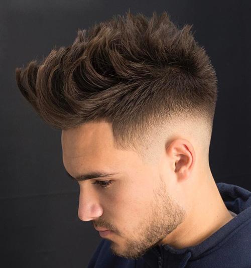 short sides long top haircut 26