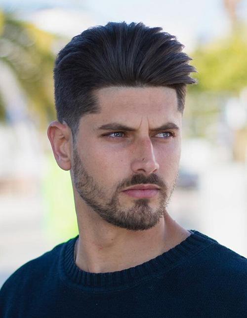 short sides long top haircut 27